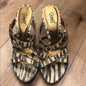 Shoes - Carlos Santana Strappy Sandals
